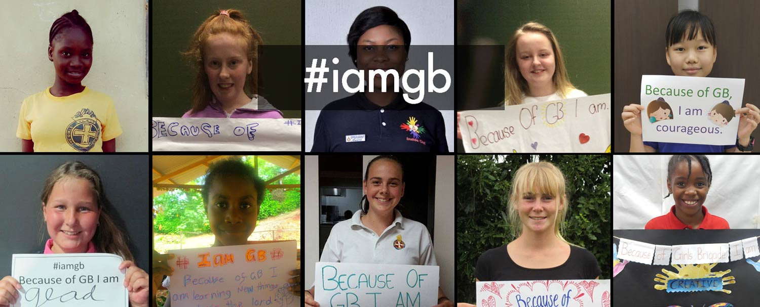 #iamgb video features global Girls' Brigade transformation stories
