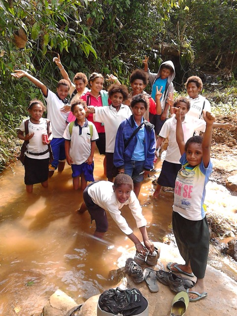 PNG day trip group